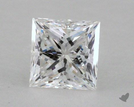 1.02 Carat F-VVS2 Ideal Cut Princess Diamond