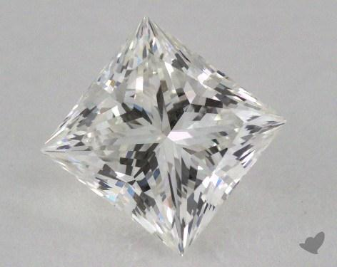 1.62 Carat H-VS1 Ideal Cut Princess Diamond