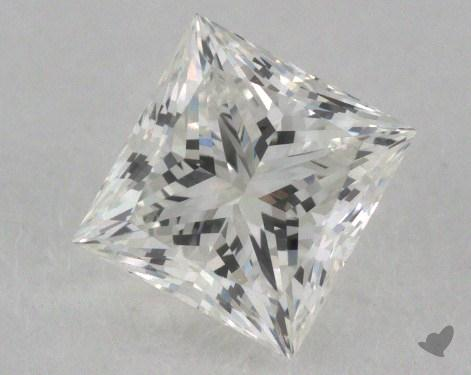 0.71 Carat H-VS1 Ideal Cut Princess Diamond