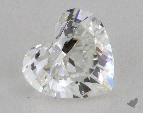 1.50 Carat H-SI1 Heart Cut Diamond