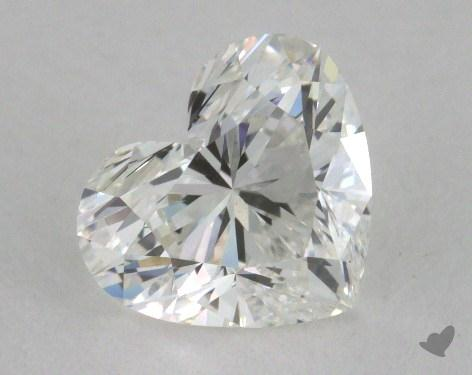 0.91 Carat G-VS2 Heart Cut Diamond