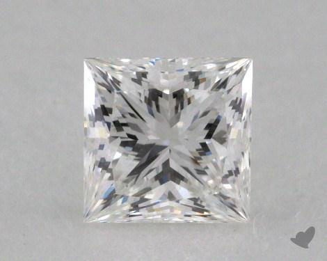 0.75 Carat F-VVS1 Ideal Cut Princess Diamond