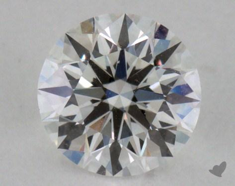 0.57 Carat F-VS2 Excellent Cut Round Diamond 