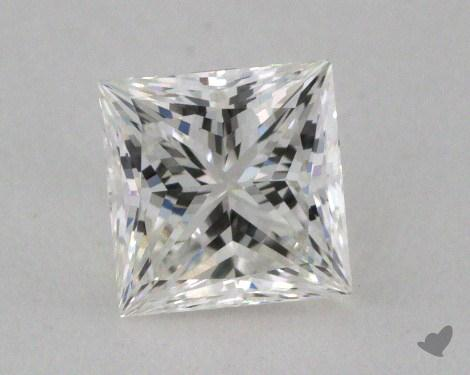 0.51 Carat H-VVS1 Ideal Cut Princess Diamond