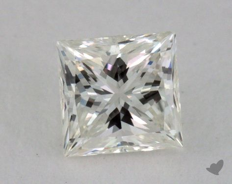 0.57 Carat I-VVS2 Princess Cut Diamond
