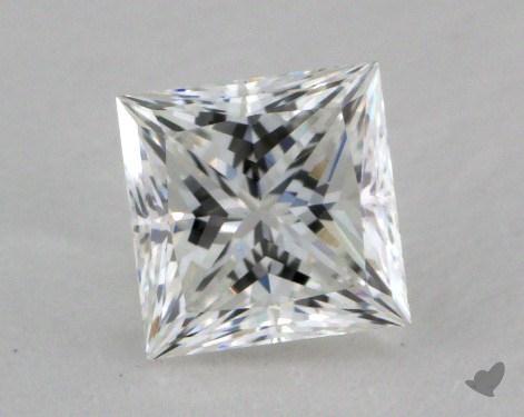 0.70 Carat F-VVS2 Ideal Cut Princess Diamond