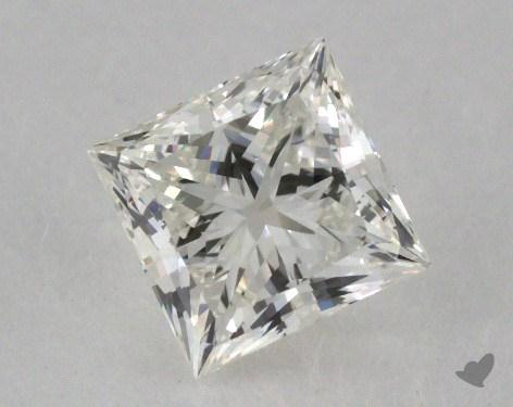 0.73 Carat H-VS1 Ideal Cut Princess Diamond