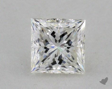 0.64 Carat F-VVS2 Ideal Cut Princess Diamond