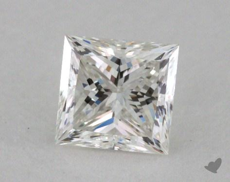 0.90 Carat G-VVS1 Ideal Cut Princess Diamond