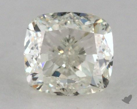 1.00 Carat K-VVS2 Cushion Cut Diamond