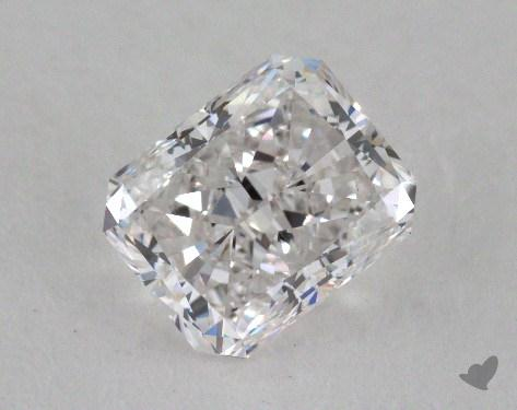 1.23 Carat E-VVS2 Radiant Cut Diamond