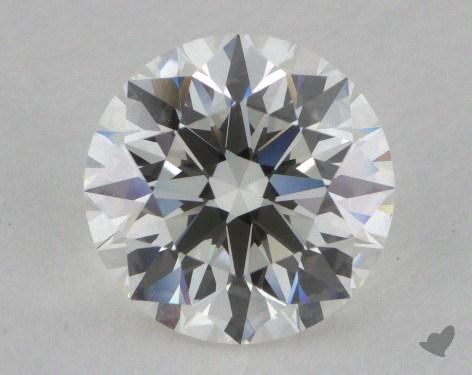 1.27 Carat H-VVS2 Excellent Cut Round Diamond