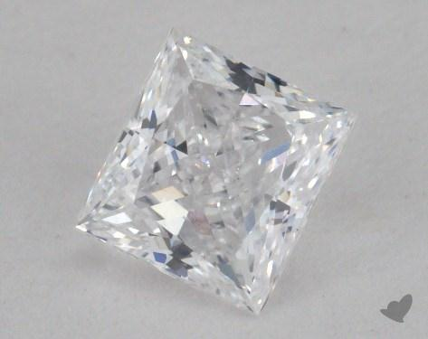 0.73 Carat D-VS2 Princess Cut Diamond 