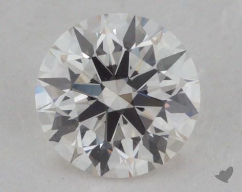 0.52 Carat H-VVS1 Excellent Cut Round Diamond