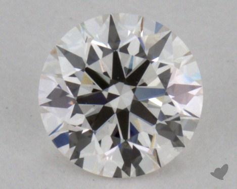 0.35 Carat H-VVS1 Excellent Cut Round Diamond
