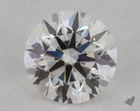 0.36 Carat G-VVS1 Excellent Cut Round Diamond 