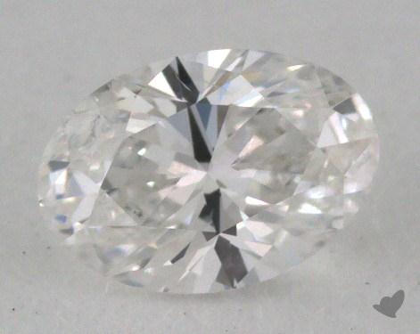 0.40 Carat E-SI2 Oval Cut  Diamond