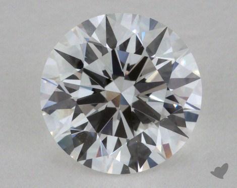 1.24 Carat E-IF Excellent Cut Round Diamond