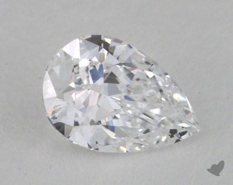 1.04 Carat D-SI2 Pear Cut Diamond
