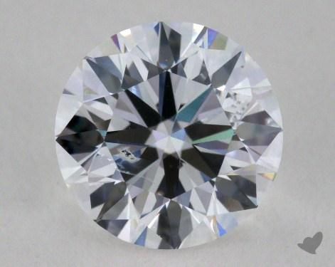 0.76 Carat D-I1 Very Good Cut Round Diamond