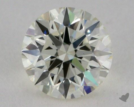 0.76 Carat K-VS2 Very Good Cut Round Diamond
