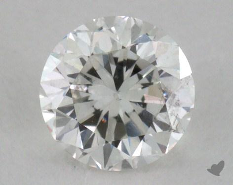 0.80 Carat H-I1 Good Cut Round Diamond