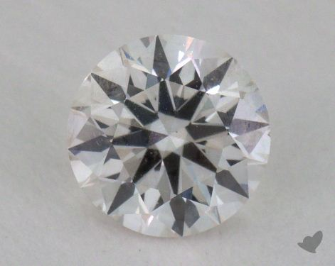 0.50 Carat I-VS2 Very Good Cut Round Diamond