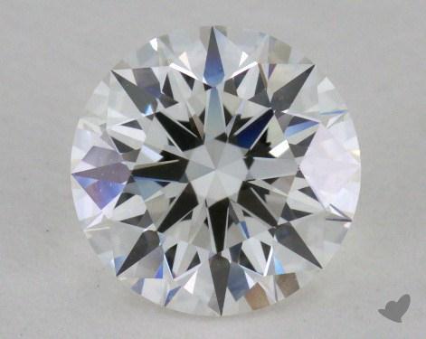 1.02 Carat F-VVS1 Excellent Cut Round Diamond