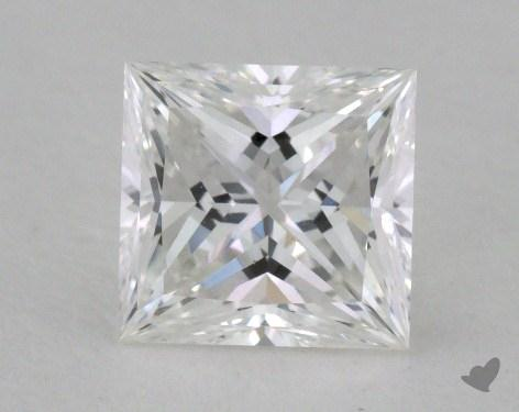 0.76 Carat E-VVS1 Ideal Cut Princess Diamond