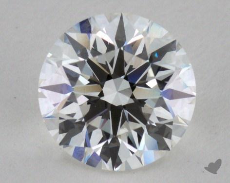 1.37 Carat G-VVS1 Excellent Cut Round Diamond