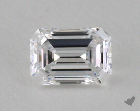 0.34 Carat D-VS2 Emerald Cut Diamond