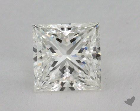 2.03 Carat H-SI1 Princess Cut  Diamond