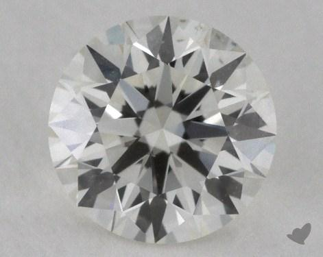 0.54 Carat K-VS2 Excellent Cut Round Diamond