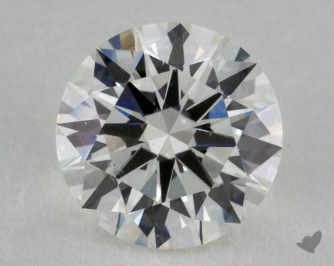 1.53 Carat H-SI1 Excellent Cut Round Diamond