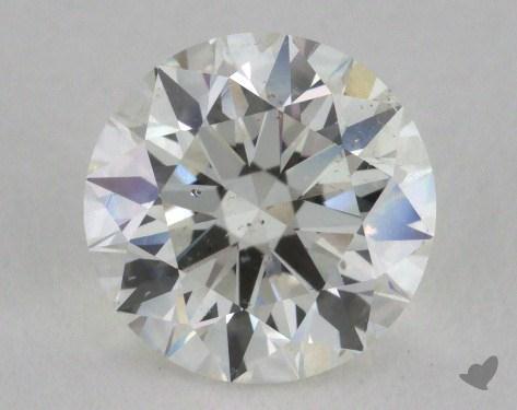 1.36 Carat I-SI1 Excellent Cut Round Diamond