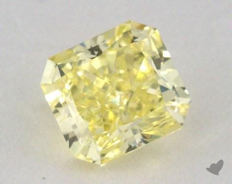 1.23 Carat fancy intense yellow-VS2 Radiant Cut Diamond