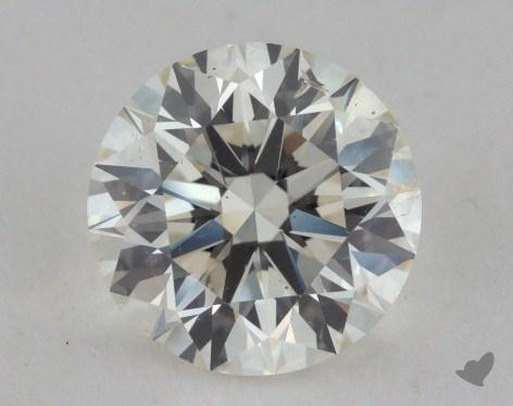 1.76 Carat J-SI2 Excellent Cut Round Diamond