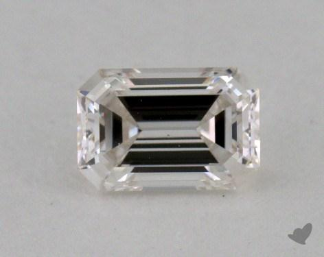 0.31 Carat H-VS2 Emerald Cut  Diamond