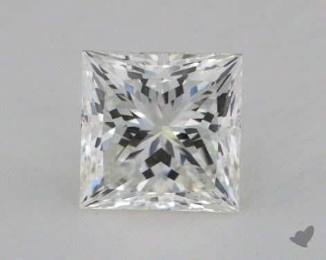 2.03 Carat H-VVS1 Princess Cut  Diamond