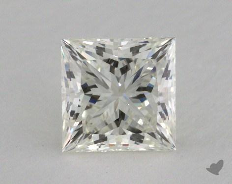 2.05 Carat J-VS2 Ideal Cut Princess Diamond