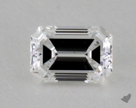 0.40 Carat E-VVS2 Emerald Cut  Diamond