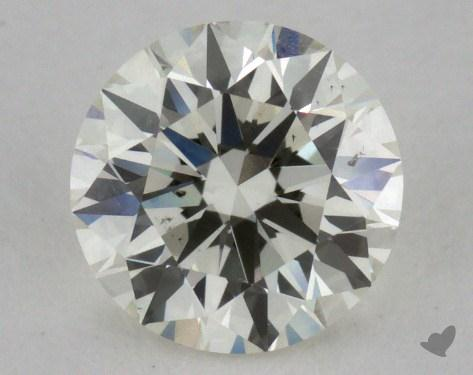 0.80 Carat J-SI1 Excellent Cut Round Diamond