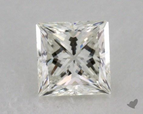 0.40 Carat I-VVS2 Ideal Cut Princess Diamond