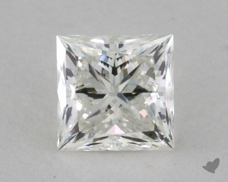 0.58 Carat I-VVS2 Princess Cut Diamond