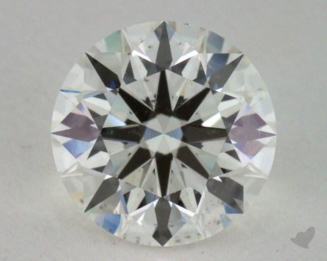 2.17 Carat I-SI1 Ideal Cut Round Diamond