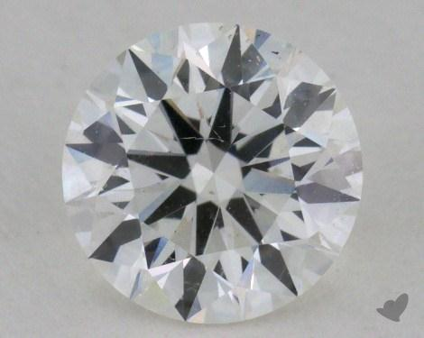 0.73 Carat G-SI1 Excellent Cut Round Diamond