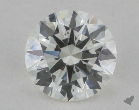 0.80 Carat H-SI1 Excellent Cut Round Diamond