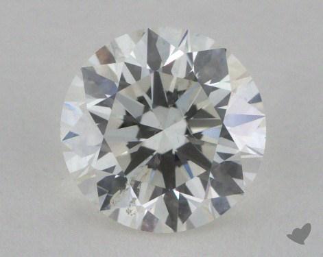 0.75 Carat H-SI2 Excellent Cut Round Diamond