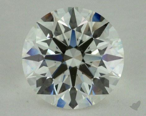 2.53 Carat H-SI1 Ideal Cut Round Diamond