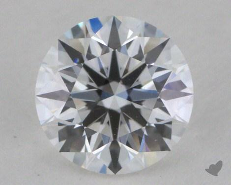 0.58 Carat D-VVS2 Excellent Cut Round Diamond